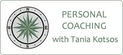 mentoring with Tania Kotsos mini button